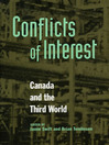 Conflicts of Interest (eBook): Canada and the Third World