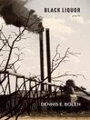 Black Liquor (eBook): Poems