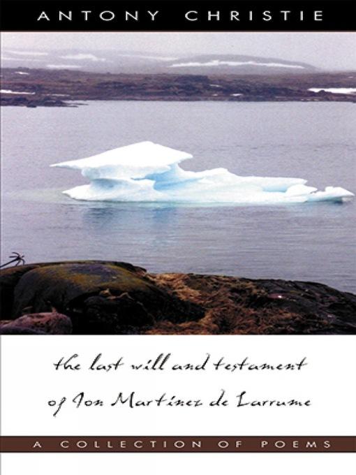 The Last Will and Testament of Jon Martinez de Larrume (eBook)