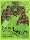 A is For Anaconda (eBook): A Rainforest Alphabet