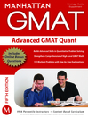 Advanced GMAT Quant (eBook): GMAT Strategy Supplement