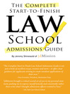 The Complete Start-to-Finish Law School Admissions Guide (eBook)