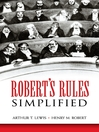 Robert's Rules Simplified (eBook)