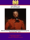 Memoirs of British Generals Distinguished During the Peninsular War, Volume 1 (eBook)