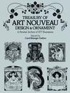 Treasury of Art Nouveau Design & Ornament (eBook)