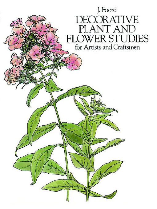 Decorative Plant and Flower Studies for Artists and Craftsmen (eBook)