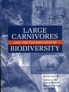 Large Carnivores and the Conservation of Biodiversity (eBook)