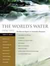 The World's Water 2004-2005 (eBook): The Biennial Report on Freshwater Resources