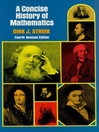 A Concise History of Mathematics (eBook)