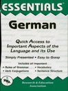 German Essentials (eBook)