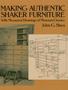 Making Authentic Shaker Furniture (eBook): With Measured Drawings of Museum Classics