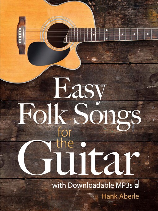 Easy Folk Songs for the Guitar with Downloadable MP3s (eBook)