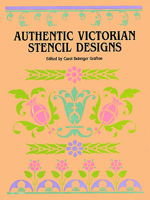 Authentic Victorian Stencil Designs (eBook)