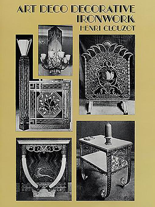 Art Deco Decorative Ironwork (eBook)
