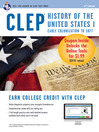 CLEP History of the United States I w/Online Practice Exams (eBook)