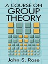 A Course on Group Theory (eBook)