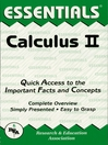 Calculus II Essentials (eBook)