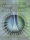 Foundations of Combinatorics with Applications (eBook)