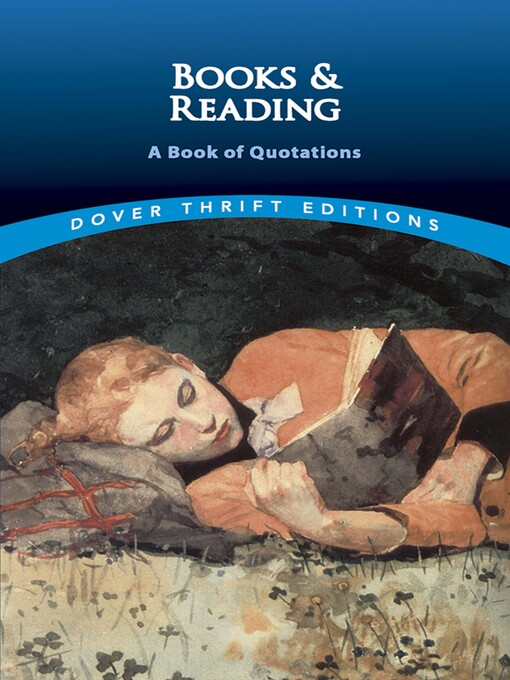Books and Reading (eBook): A Book of Quotations