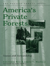 America's Private Forests (eBook): Status and Stewardship