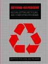 Beyond 40% (eBook): Record-Setting Recycling and Composting Programs