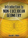 Introduction to Non-Euclidean Geometry (eBook)