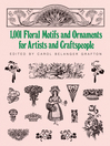 1001 Floral Motifs and Ornaments for Artists and Craftspeople (eBook)