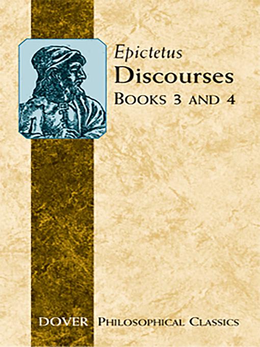 Discourses (Books 3 and 4) (eBook)