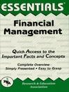 Financial Management Essentials (eBook)