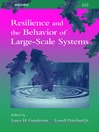 Resilience and the Behavior of Large-Scale Systems (eBook)