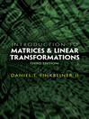 Introduction to Matrices and Linear Transformations (eBook)