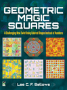 Geometric Magic Squares (eBook)