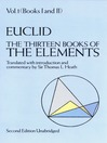 The Thirteen Books of the Elements, Volume 1 (eBook)
