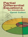 Partial Differential Equations (eBook): An Introduction