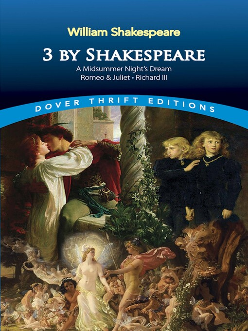 3 by Shakespeare (eBook): A Midsummer Night's Dream, Romeo and Juliet and Richard III
