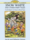 Snow White and Other Fairy Tales (eBook)