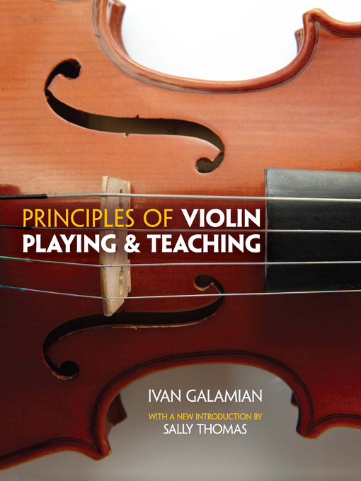 Principles of Violin Playing and Teaching (eBook)