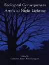 Ecological Consequences of Artificial Night Lighting (eBook)