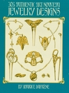 305 Authentic Art Nouveau Jewelry Designs (eBook)