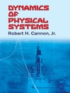 Dynamics of Physical Systems (eBook)
