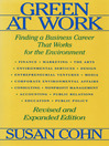 Green at Work (eBook): Finding a Business Career that Works for the Environment