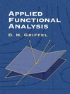 Applied Functional Analysis (eBook)