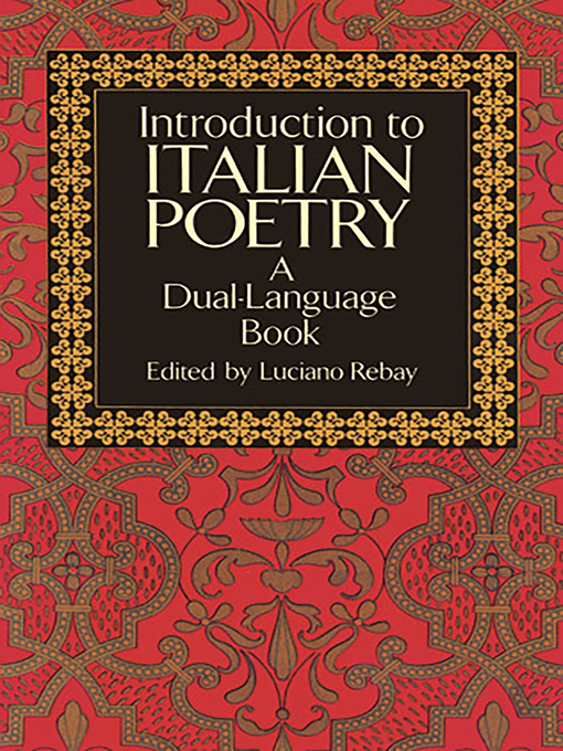 Introduction to Italian Poetry (eBook): A Dual-Language Book