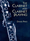 The Clarinet and Clarinet Playing (eBook)