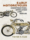 Early Motorcycles (eBook): Construction, Operation and Repair