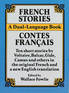 French Stories/Contes Francais (eBook): A Dual-Language Book
