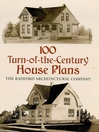 100 Turn-of-the-Century House Plans (eBook)