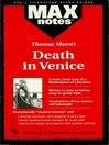 Death in Venice: MAXNotes Literature Guides (eBook)