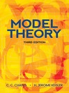 Model Theory (eBook)