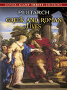 Greek and Roman Lives (eBook)